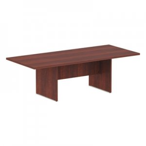 Alera Valencia Series Conference Table, Rectangle, 94.5 x 41 3/8 x 29.5, Medium Cherry ALEVA719642MC