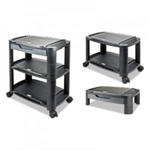 "Alera 3-in-1 Storage Cart and Stand, 21 5/8""w x 13 3/4""d x 24 3"