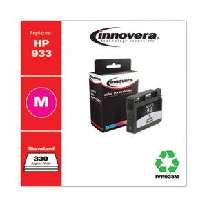 Innovera Remanufactured Magenta Ink, Replacement for HP 933 (CN059A), 330 Page-Yield IVR933M