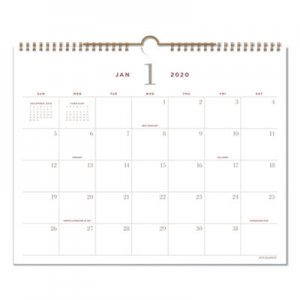 At-A-Glance Signature Collection Wall Calendar, 15 x 12, 2020 AAGYP70714 YP70714