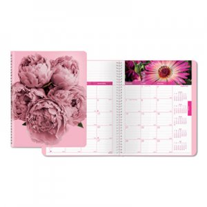 Brownline Pink Ribbon Monthly Planner, 9 1/4 x 7 1/2, Pink REDCB1219PNK CB1219.PNK