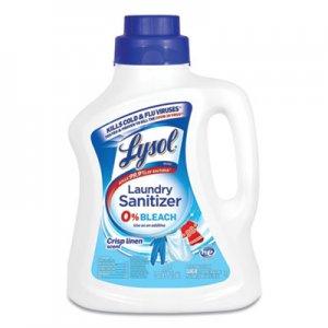 LYSOL Brand Laundry Sanitizer, Liquid, Crisp Linen, 90 oz RAC95872EA 19200-95872