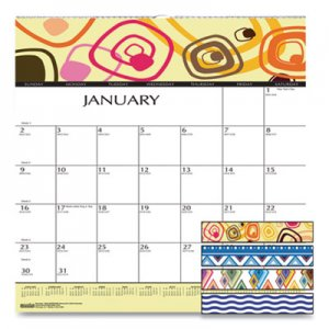 House of Doolittle 100% Recycled Geometric Wall Calendar, 12 x 12, 2020 HOD3491 3491