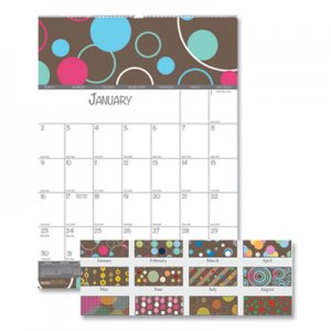 House of Doolittle 100% Recycled Bubbleluxe Wall Calendar, 12 x 16.5, 2021 HOD341 341