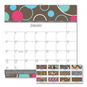 House of Doolittle 100% Recycled Bubbleluxe Wall Calendar, 12 x 12, 2021 HOD340 340