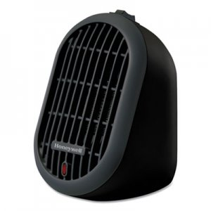 Honeywell Heat Bud Personal Heater, 250 W, 4.14 x 4.33 x 6.5, Black HWLHCE100B HCE100B