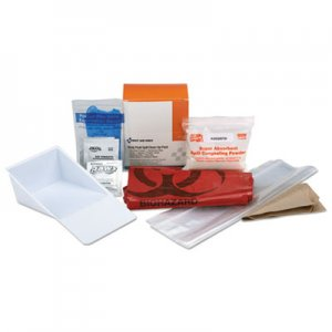 """First Aid Only BBP Spill Cleanup Kit, 3.625"""" x 4.312"""" x 2.25"""" FAO21760 21-760"""