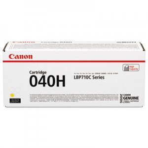 Canon 0455C001 (040) High-Yield Ink, 10000 Page-Yield, Yellow CNM0455C001 0455C001