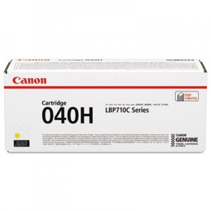 Canon 0454C001 (040) Ink, 5400 Page-Yield, Yellow CNM0454C001 0454C001