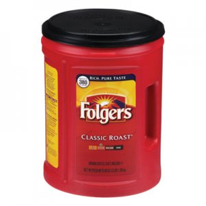 Folgers Coffee, Classic Roast, 48 oz Canister, 210/Pallet FOL0529CPL 2550000529C