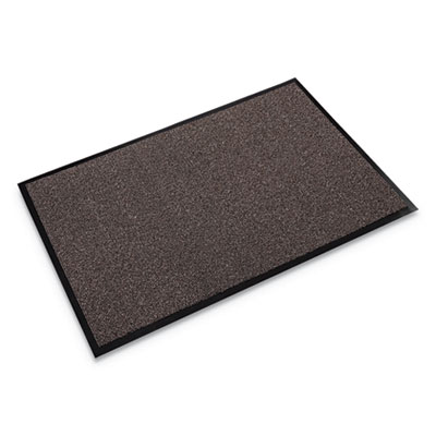 Crown Walk-A-Way Indoor Wiper Mat, Olefin, 48 x 72, Brown CWNWA0046BR WA 0046BR