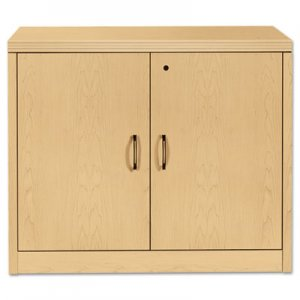 HON Valido Series Storage Cabinet w/Doors, 36w x 20d x 29-1/2h, Natural Maple HON115291AFDD H115291.A.F