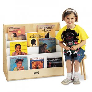 Jonti-Craft Pick-a-Book Stand, 30w x 16.5d x 27.5h, Birch JNT3508JC 3508JC