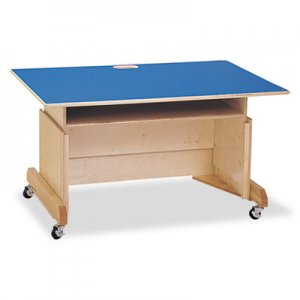 Jonti-Craft Computer Table, 42w x 29d x 30h, Blue JNT3452JC 3452JC
