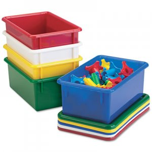 Jonti-Craft Cubbie Trays, 8-5/8w x 13-1/2d x 5-1/4h, Yellow JNT8004JC 8004JC