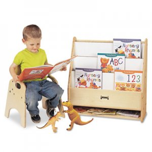 Jonti-Craft Toddler Pick-a-Book Stand, 24w x 9d x 25h, Birch JNT0071JC 0071JC