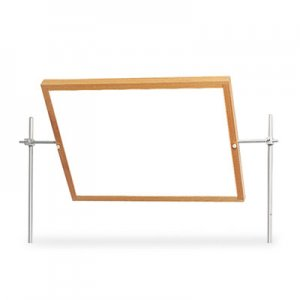 Diversified Woodcrafts Optional Mirror/Markerboard for Mobile Tables, 27-3/4w x 20-3/4h, Mirror DVW4001K 4001K