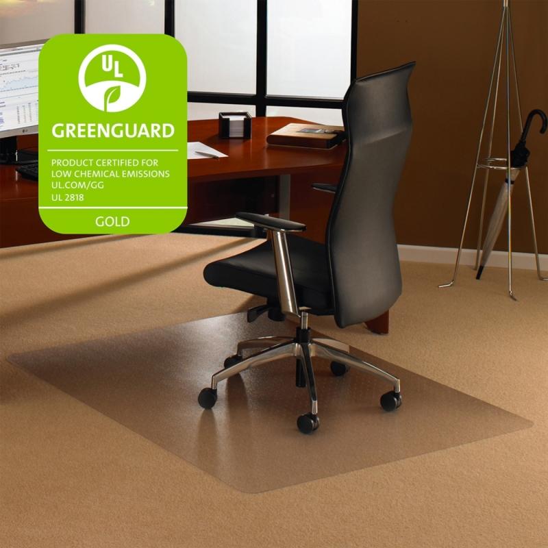 Cleartex Plush Pile Rectangular Chairmat 1113427ER FLR1113427ER