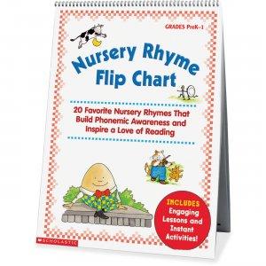 Scholastic Res. Nursery Rhyme Flip Chart 0439513820 SHS0439513820