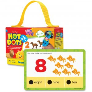 Hot Dots Jr. Numbers Card Set 2353 EII2353