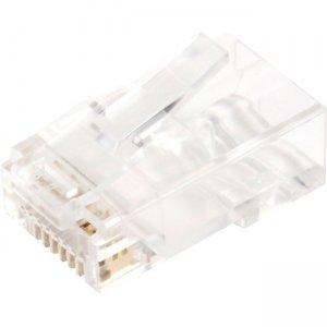 V7 100-Pack RJ45 Plugs for CAT6, CAT5E V7RJ45PLUGS-100PK-1N