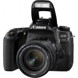 Canon EOS Digital SLR Camera with Lens 1892C016 77D