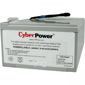 CyberPower Battery Pack for PR1000LCD, 18-Mo WTY RB12120X2B