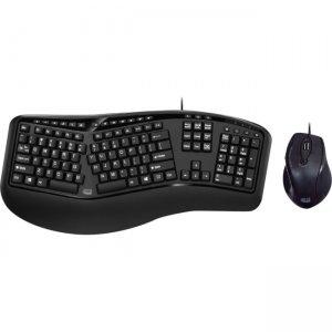 Adesso TruForm 150CB Desktop Ergonomic Keyboard & Mouse Combo AKB-150CB