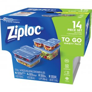 Ziploc Food Storage Container Set 650872 SJN650872