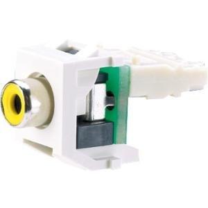 Panduit RCA Video Connector NKRPMYBL