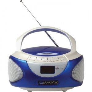 AmpliVox CD Boombox with Bluetooth SL1015