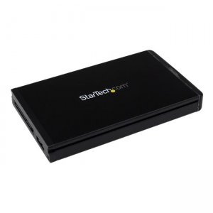 "StarTech.com USB-C Hard Drive Enclosure for 2.5"" SATA SSD / HDD - USB 3.1 10Gbps S251BU31REMD"
