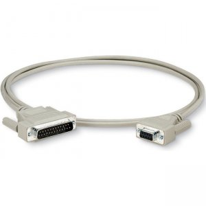 Black Box PC Parallel Data Transfer Cable DB25M/DB25 Male 6Ft BC018001