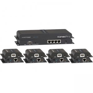 KanexPro HDMI 1x4 Distribution Amplifier Over CAT5e/6 Outputs SP-HDCAT1X4
