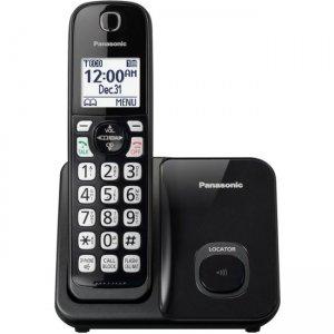 Panasonic Expandable Cordless Phone with Call Block - 1 Handset KX-TGD510B
