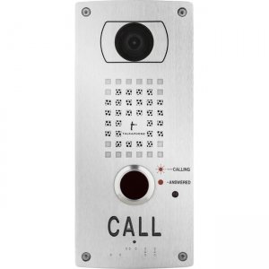 Talk-A-Phone Surface Mount IP Video Call Station VOIP-201C3