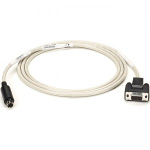 Black Box RS-232 Serial To Imagewriter Cable 8-Pin Mini DIN/DB9F 6Ft EVMA08-0006