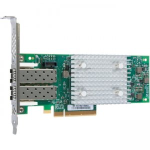 Lenovo ThinkSystem QLogic QLE2742 PCIe 32Gb 2-Port SFP+ Fibre Channel Adapter 7ZT7A00518