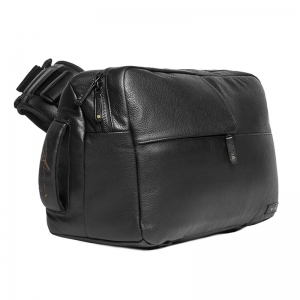 Ari Marcopoulos Camera Bag - Black Leather CL58107 CL58107