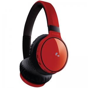 Philips SHB9100RD/28 Bluetooth Stereo Headset, Red SHB9100RD/28 SHB9100RD/28