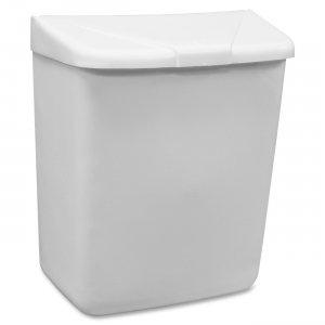 HOSPECO Feminine Hygiene Waste Receptacle 250/201W HOS250201W
