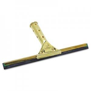 "Unger 12"" GoldenClip Brass Squeegee GS300 UNGGS300"
