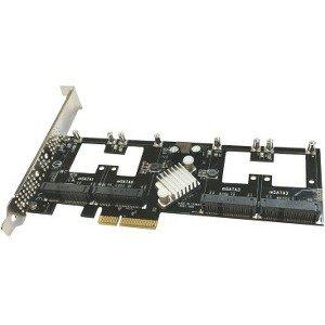 Addonics Quad mSATA PCIe SSD AD4MSPX2-A