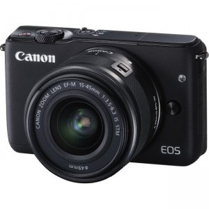 Canon EOS Mirrorless Camera with Lens 0584C011 M10