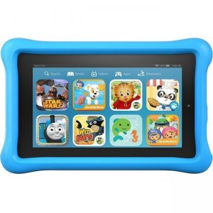 "Amazon Fire Kids Edition Tablet, 7"" Display, Wi-Fi, 16 GB, Blue Kid-Proof Case B018Y22C2Y"