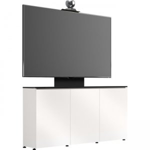 Salamander Designs 3-Bay with Single Monitor, Low-Profile Wall Cabinet D1/337AM1/BL/WE D1/337AM1