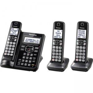 Panasonic Trio Cordless Phone KX-TGF543B PANKXTGF543B