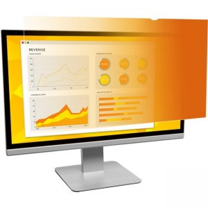 """3M Gold Privacy Filter for 23.6"""" Widescreen Monitor GF236W9B"""
