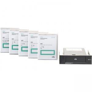 HP RDX 4TB USB 3.0 External Disk Backup System Q2R33A