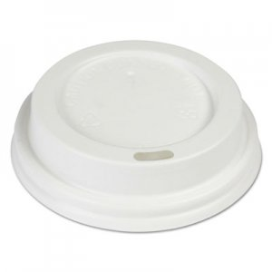 Boardwalk Hot Cup Lids, Fits 8 oz Hot Cups, White, 1000/Carton BWKHOTWH8